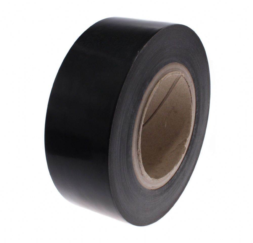 38MA Black Low Tack Protection Tape